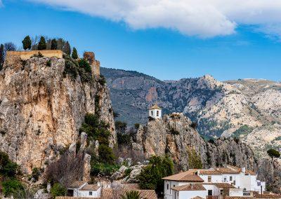 Respira y déjate envolver por el Castell de Guadalest